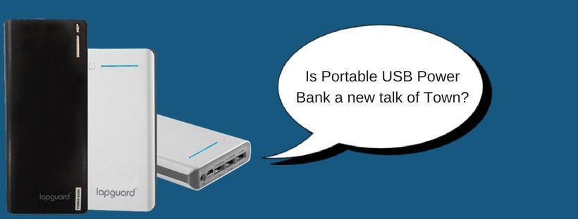 Portable USB Power Bank,